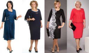 Элегантное платье для женщины 40 лет