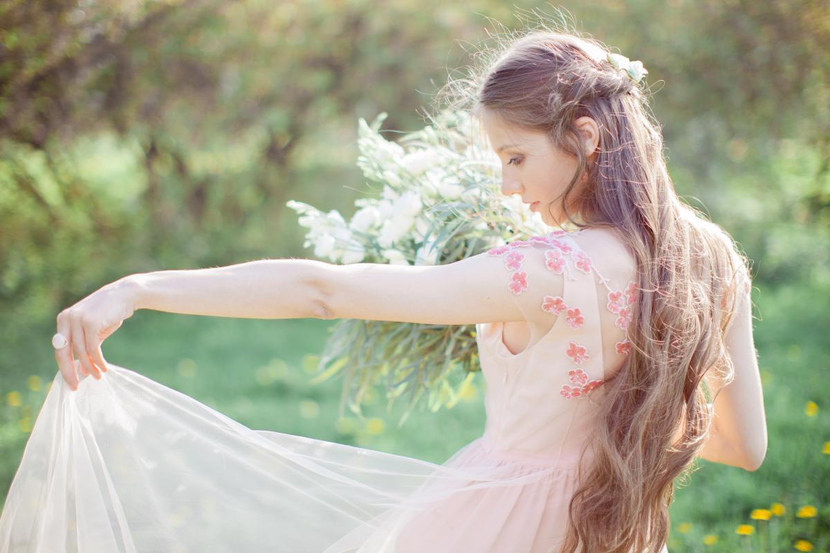 О платье