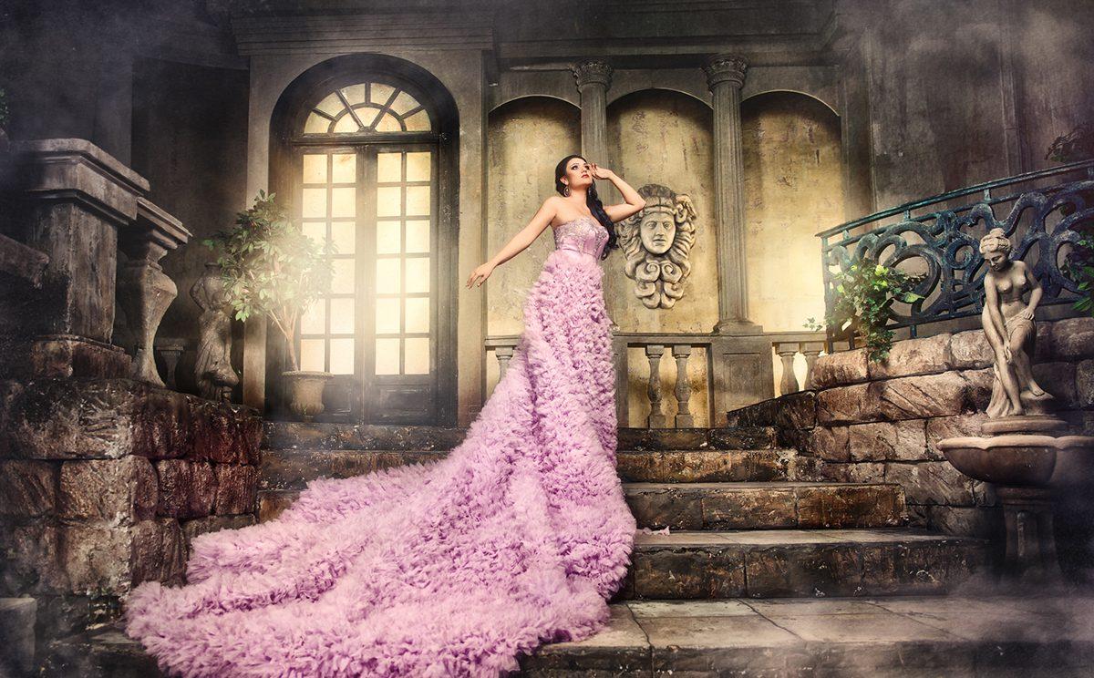 О женщине в платье