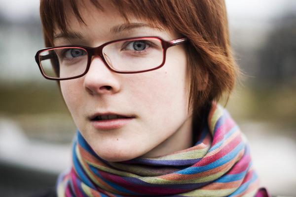 О женщине в очках