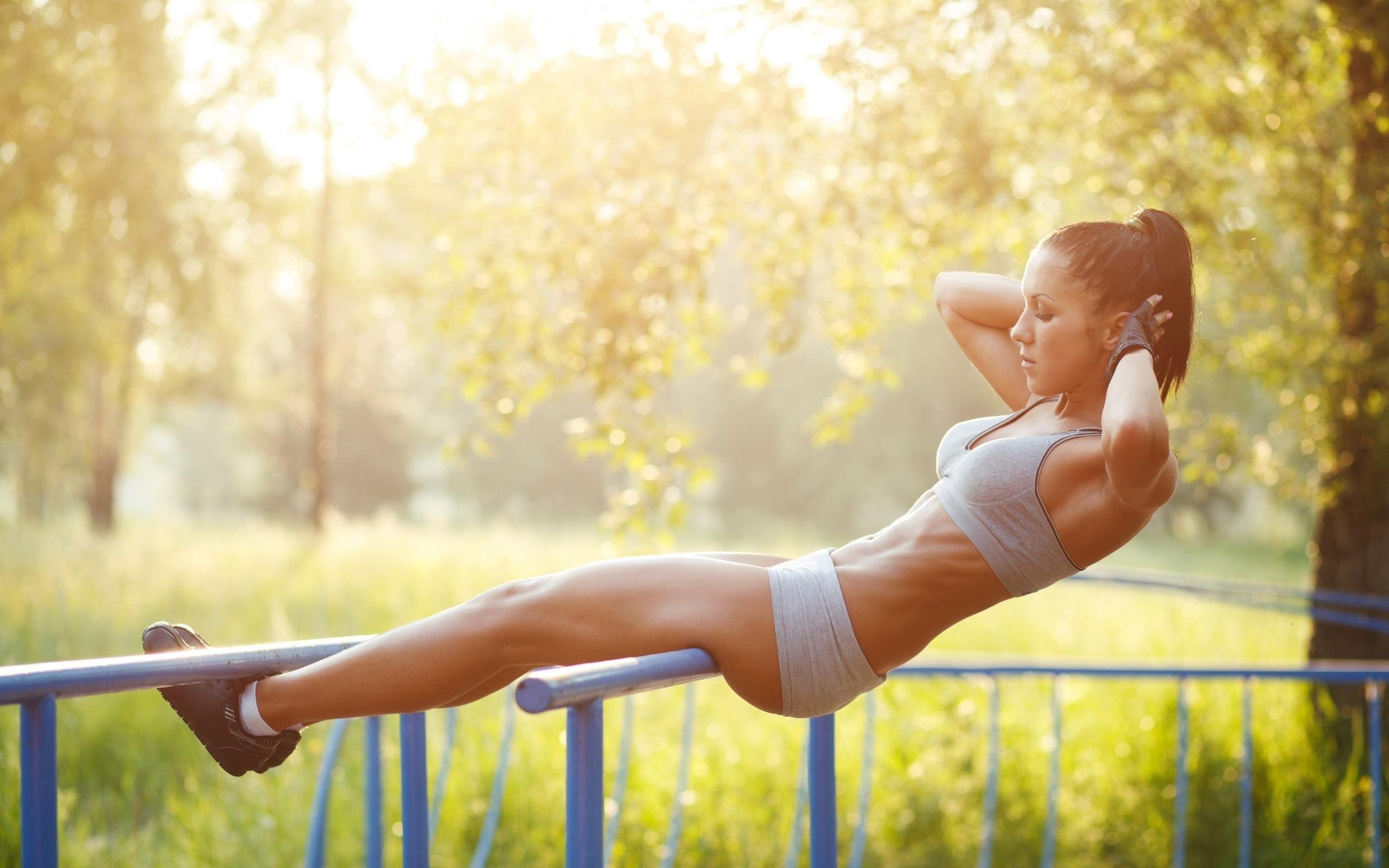 О мышцах у женщины